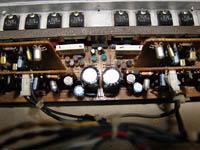 パワーアンプ基板の…
