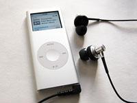 iPodにソニーのイヤホン