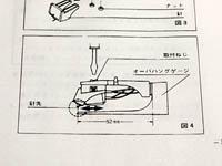 SL-1200MK3オーバーハングの図
