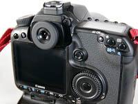 EOS 40DにME-1を装着。