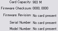 No card present??