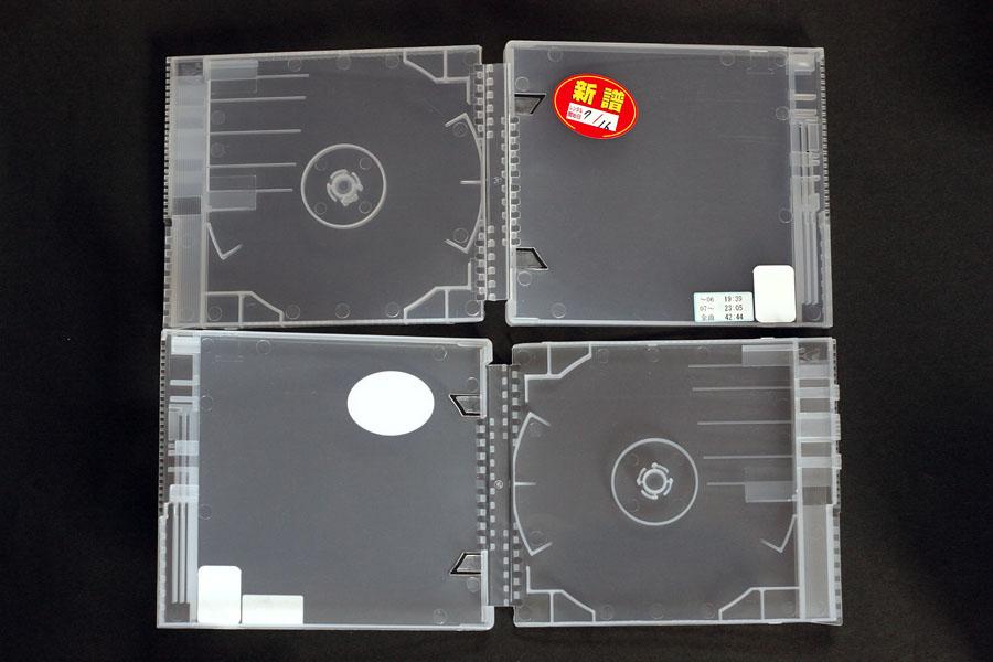 謎のレンタルCDケース